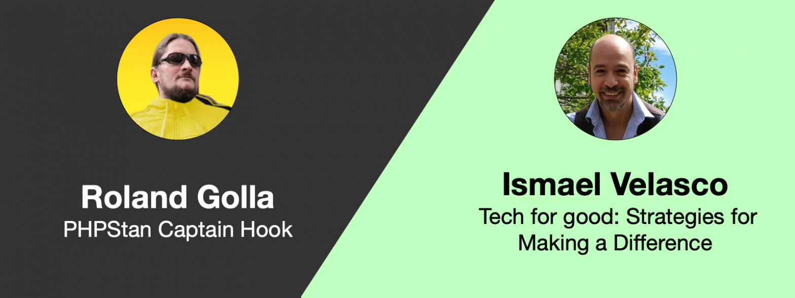 Announcing Roland and Ismael as next speakers for the meetup